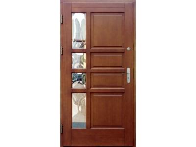 Drzwi ramiakowo-płycinowe nr 1