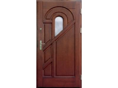 Drzwi ramiakowo-płycinowe nr 2b