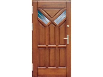 Drzwi ramiakowo-płycinowe nr 3