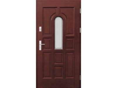 Drzwi ramiakowo-płycinowe nr 4b