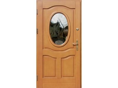 Drzwi ramiakowo-płycinowe nr 5