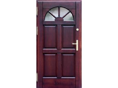 Drzwi ramiakowo-płycinowe nr 6