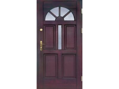 Drzwi ramiakowo-płycinowe nr 6a