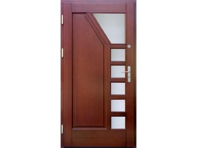 Drzwi ramiakowo-płycinowe nr 7a
