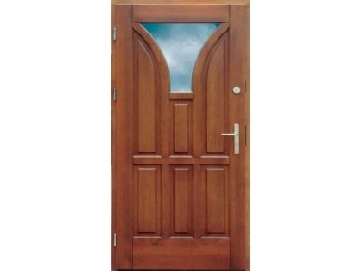 Drzwi ramiakowo-płycinowe nr 8