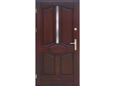 Drzwi ramiakowo-płycinowe nr 9