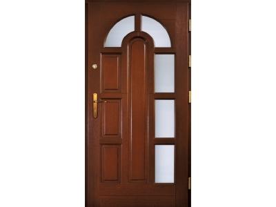 Drzwi ramiakowo-płycinowe nr 11