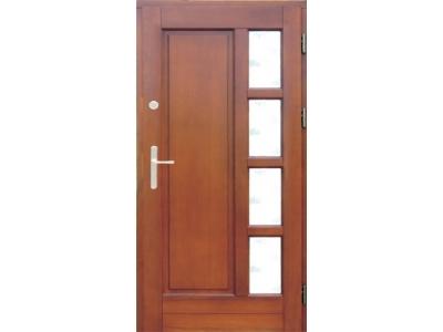 Drzwi ramiakowo-płycinowe nr 12