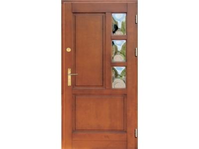 Drzwi ramiakowo-płycinowe nr 13