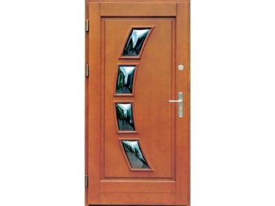 Drzwi ramiakowo-płycinowe nr 14