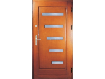 Drzwi ramiakowo-płycinowe nr 15