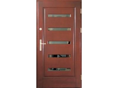 Drzwi ramiakowo-płycinowe nr 16