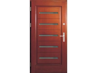 Drzwi ramiakowo-płycinowe nr 16a
