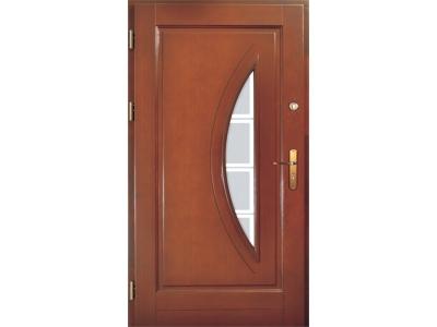 Drzwi ramiakowo-płycinowe nr 17