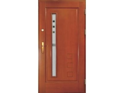 Drzwi ramiakowo-płycinowe nr 18