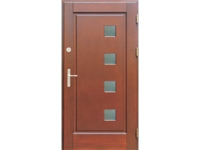 Drzwi ramiakowo-płycinowe nr 20