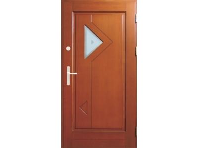 Drzwi ramiakowo-płycinowe nr 21