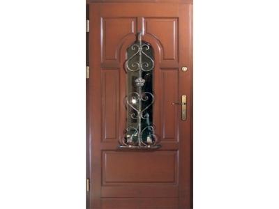 Drzwi ramiakowo-płycinowe nr 22
