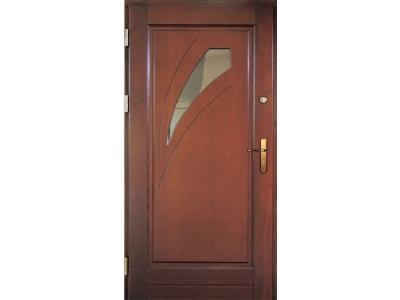 Drzwi ramiakowo-płycinowe nr 24