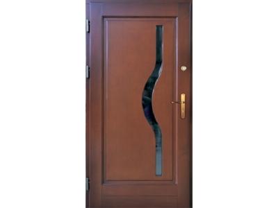 Drzwi ramiakowo-płycinowe nr 25