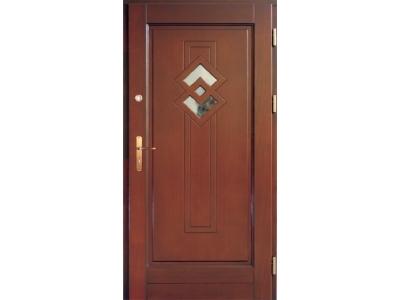Drzwi ramiakowo-płycinowe nr 26