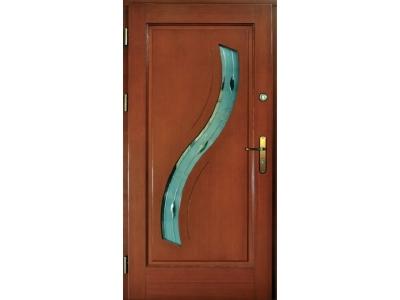 Drzwi ramiakowo-płycinowe nr 28
