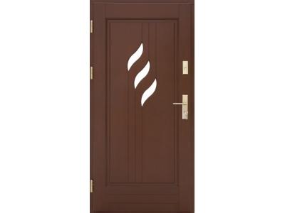 Drzwi ramiakowo-płycinowe nr 29