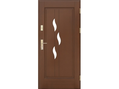 Drzwi ramiakowo-płycinowe nr 30