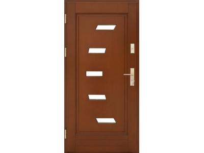 Drzwi ramiakowo-płycinowe nr 31