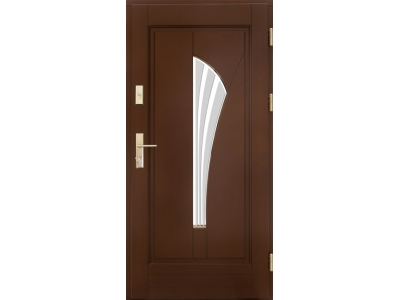 Drzwi ramiakowo-płycinowe nr 32