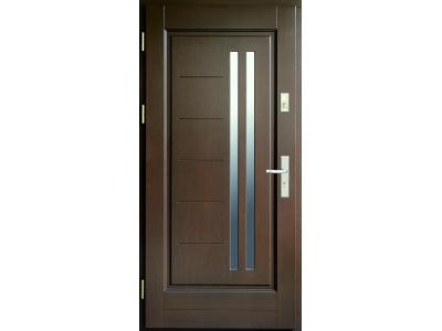Drzwi ramiakowo-płycinowe nr 33