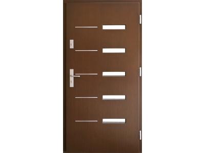 Drzwi płytowe ZP1 inox