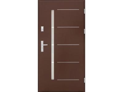 Drzwi płytowe ZP2 inox