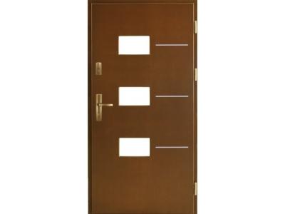 Drzwi płytowe ZP3 inox