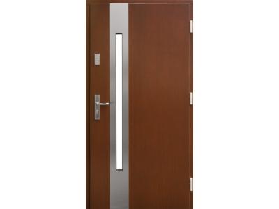 Drzwi płytowe ZP8 inox