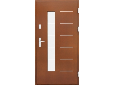 Drzwi płytowe ZP11 inox