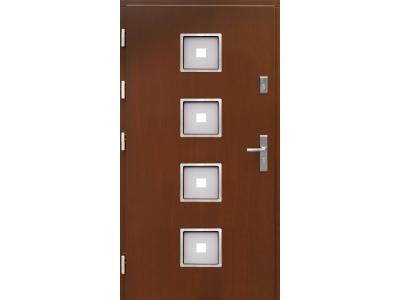 Drzwi płytowe WP4 inox
