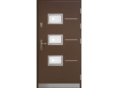 Drzwi płytowe WP7 inox