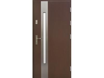 Drzwi płytowe WP8 inox