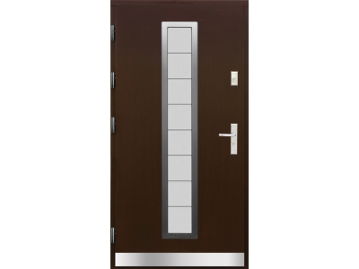 Drzwi płytowe WP9 inox