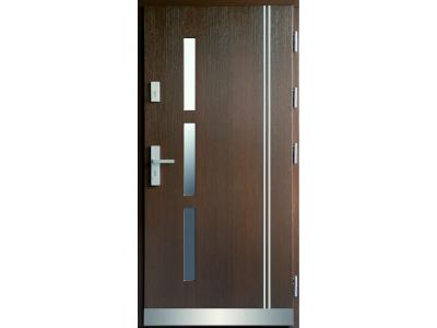 Drzwi płytowe WP13B inox