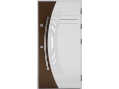 Drzwi płytowe WP14 inox