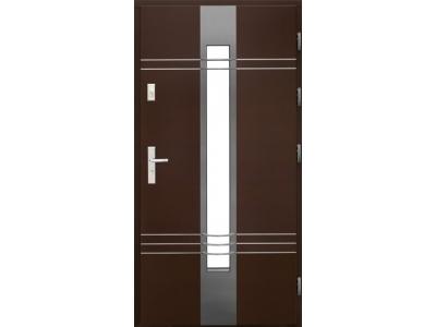 Drzwi płytowe WP15 inox 3D
