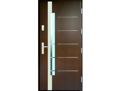 Drzwi płytowe WP16A inox