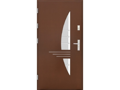 Drzwi płytowe WP17 inox