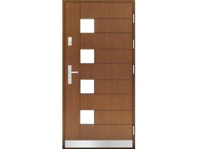 Drzwi płytowe WP19 inox