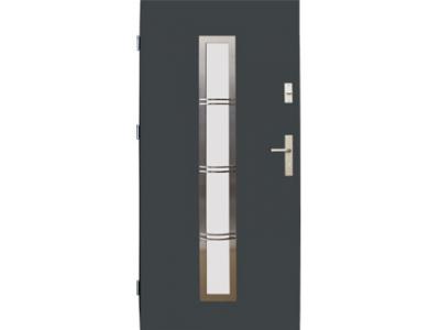 Drzwi stalowe wzór 12B