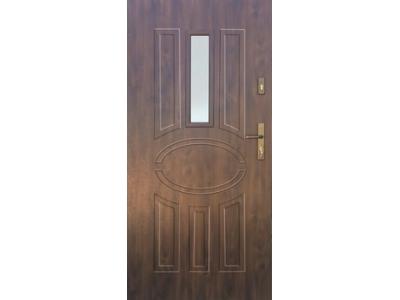 Drzwi stalowe wzór 33A