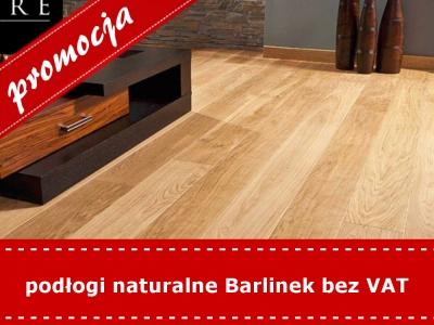 podłogi naturalne Barlinek bez VAT