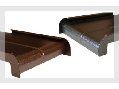 Parapety zewnętrzne aluminiowe typu płytka